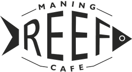 Maning Reef Cafe logo